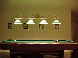 image of modern pool table light