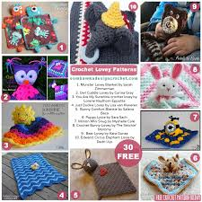 Free Crochet Lovey Pattern Simple 48 Free Crochet Lovey Patterns Oombawka Design Crochet