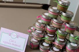mason jar baby shower favor ideas