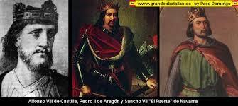 Resultado de imagen de navas de tolosa tres reyes