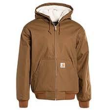 Carhartt Wip Active Pile Jacket Hamilton Brown Rigid Bei