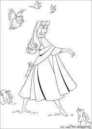 Colorare La Bella Addormentata Nel Bosco Disegno Walt Disney La