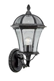 searchlight lighting 1570 capri ip44 1lt large rustic outdoor wall light