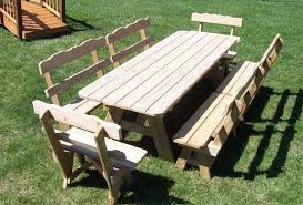 brilliant ideas picnic table plans detached benches awesome wood