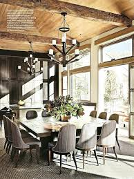 rustic chic dining room delightful rustic chic dining room 0 rustic chic dining room via ad
