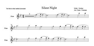 sheet music silent night silent night harp column music