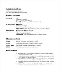Professional Resume Templates Word Lovely Academic Cv Word Template