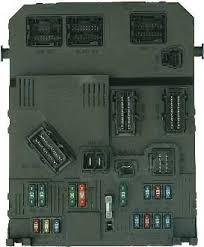 peugeot 206 fuses bsi fuses near steering column