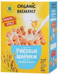 "<b>Компас Здоровья</b> ""Рисовые шарики"" <b>сухой</b> завтрак, 100 г ..."