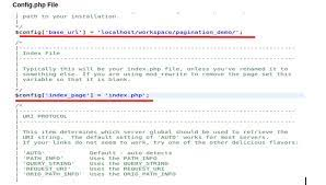 codeigniter how to remove index php