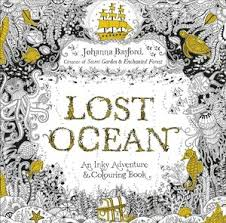 lost ocean an inky adventure colouring book johanna basford