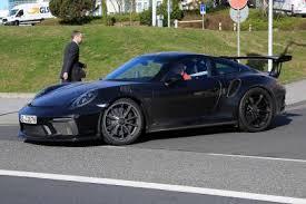 2018 porsche 911 gt3 rs. contemporary porsche porsche 911 gt3 rs facelift spy shot inside 2018 porsche