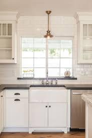 stunning kitchen window ideas for modern kitchen decoration whte subway tile backsplash and kitchen window