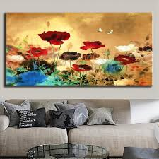 Wall Art Paintings For Living Room Aliexpresscom Buy 1 Pcs Set Huge Picture Living Room Wall Art