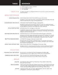Architectural Drafter Resume Adorable Resume Objective Autocad Drafter with Additional 74