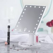 20 led lights vanity makeup mirror touch screen