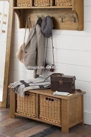 Wicker Basket Cabinet Shabby Chic Grey Wood 2 Drawer Wicker Basket Cabinet Whiskey Rack