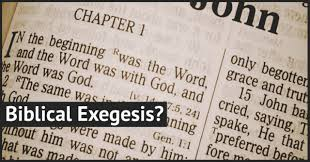 What is Biblical Exegesis? (The Three Worlds of the Text) – Bishop's  Encyclopedia of Religion, Society and Philosophy