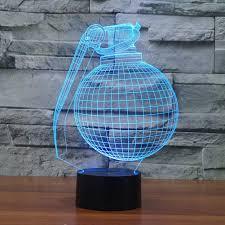 Boogie Bomb Led Light Amazon Com Aon Mx Boogie Bomb New 3d Lamp 7 Colors Desk