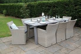 patio dining set for 8. rattan 8 seater dining furniture set patio for