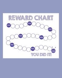 Reward Chart Templates Printable Shelter
