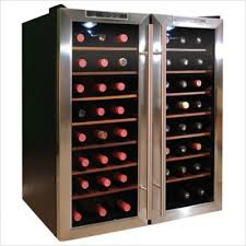 thermoelectric wine cooling unit