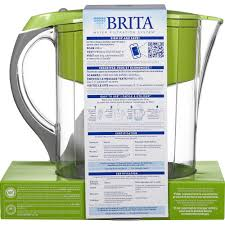 Brita water filter ad Water Brand Photo Of Brita Large 10 Cup Grand Water Pitcher With Filter Bpa Free Green Csrlalumniorg Brita Pitcher Water Filtration System Pitcher Grand Model