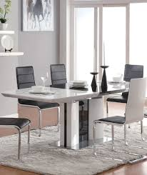 Extendable Dining Room Table Awesome White Dining Room Set For Inspirations Degreet