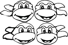 Free Coloring Pages Ninja Turtles Trustbanksurinamecom