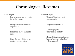 Effective Resume Creating An Effective Resume Styles Of Resumes Chronological 89