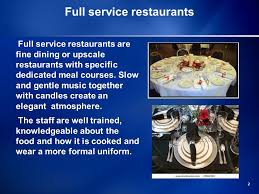 B2b music service could be much more than a licensed music service for commercial use. 0 Food And Beverage Establishments 1 Types Of Restaurants Three Types Of Restaurants Full Service Restaurants Family Restaurants Fast Food Outlets Ppt Download