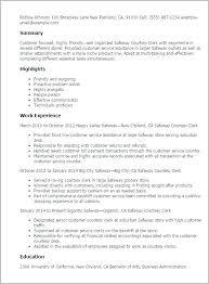 Retail Clerk Resume Directory Resume