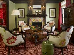 Green And Red Living Room Top Dark Green Living Room Ideas With Labels  Works