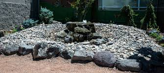 river rocks entry garden. Entry Fountain River Rocks Garden