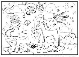 Skating Winter Coloring Pages Printables Westtraverseinfo