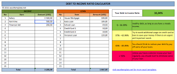 how to calculate credit card payoff in excel debt to income ratio calculator