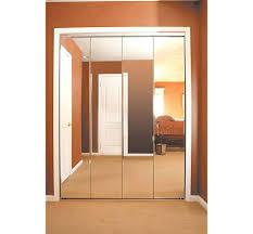 Image Mirror Sliding Closet Doors Inspired Closet Mirror Bifold