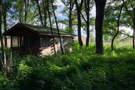 cabin camping in the woods. Camper Cabins At Minnesota State Parks Are Designed To Blend Into Their Surroundings Cabin Camping In The Woods