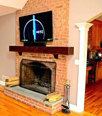 mount tv on brick fireplace mounting on brick fireplace wall mount hide wires fireplace mounting a