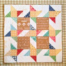 Carried Away Quilting: Mini Story Stars in Calico Days & Thank you to Barb at Quilts on Broadway for the cheery quilting! Adamdwight.com