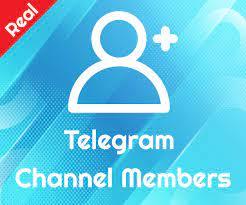 real telegram members telegram