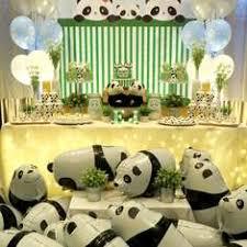 Its A Boy Baby Panda Teal Chevron Baby Shower Invitation U0026 TagPanda Baby Shower Theme