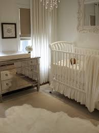shearling area rugs in a white nursery house of wentworth via atticmag