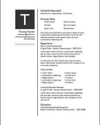 Pages Resume Templates | Free iWork Templates