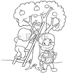 apple tree clipart black and white. pin climbing tree clipart black and white #9 apple w