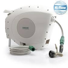 hoselink hi flow 25m auto rewind hose reel 3425