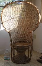 large wicker fan chair design ideas