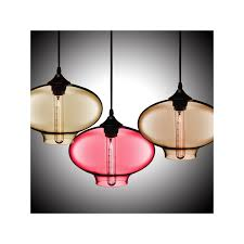 in stock hand blown glass pendant light fish bowl shade ceiling fixture with 1 light dining room living room bedroom ceiling lights color of love