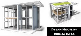 dylan house 116 34 scale finished kit discontinued was 149 by brinca dada brincadadacom brinca dada bennett house modern dolls