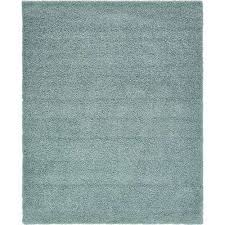 solid slate blue 8 ft x 10 ft area rug